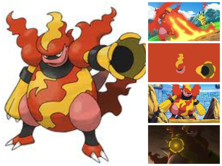 Magmortar(Blast Pokémon)