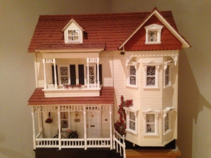 Victorian mansion dolls house - The Dolls House Exchange