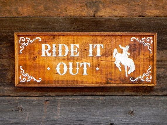 Wood Sign, Western Signs and Home Decor, Country Signs, Horse Decor, Indoor and Outdoor Signs, Farm and Ranch, Barn Sign, Rustic Wooden Sign