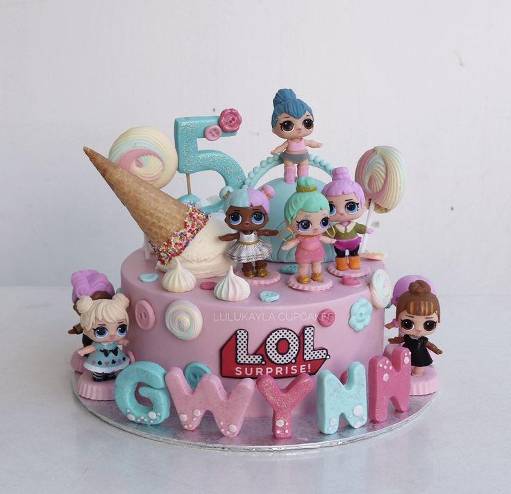 Lol surprise cake Buttercream cake in 2019 Birthday