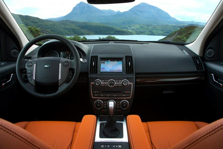 This 2013 Land Rover LR2 interior is almost as beautiful as the surrounding scenery!
