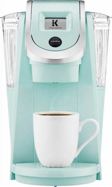 Keurig - K200 Single-Serve K-Cup Pod Coffee Maker - Oasis - Front_Zoom