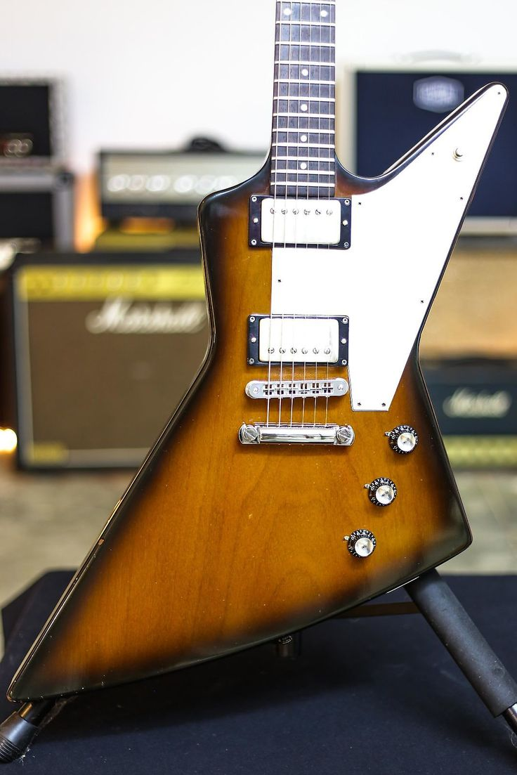 1989 Gibson Explorer - Vintage Sunburst