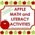 Lots of activities for a fun unit on Apples.    Activities include multi-leveled skills and are  aligned with kindergarten and first grade Common Cor...