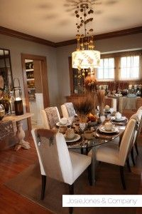 Grey Paint W Wood Trim Neutral Cream White Accents For Color On Island Cabinets And In Around Kitchen Dining Great Room