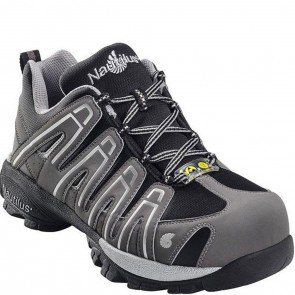 N4340 Nautilus Men's ESD Soft Toe Work Shoes - Grey/Black www.bootbay.
