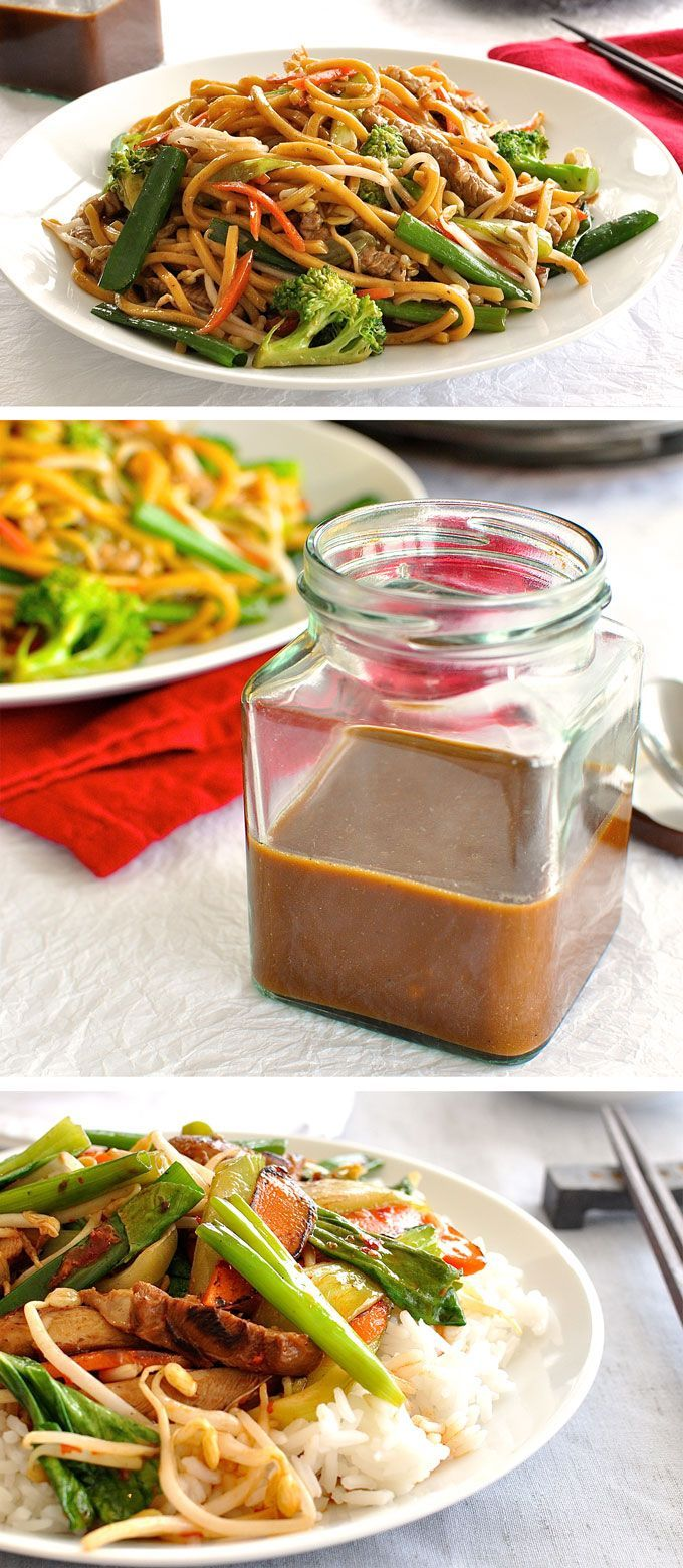 Restaurant Secret: Real Chinese All Purpose Stir Fry Sauce you can make in 2 minutes and store in the fridge for when you need it.
