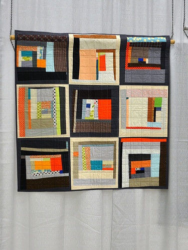 arts and crafts movement quilts | QuiltCon favorites ~ by Becca Jubie