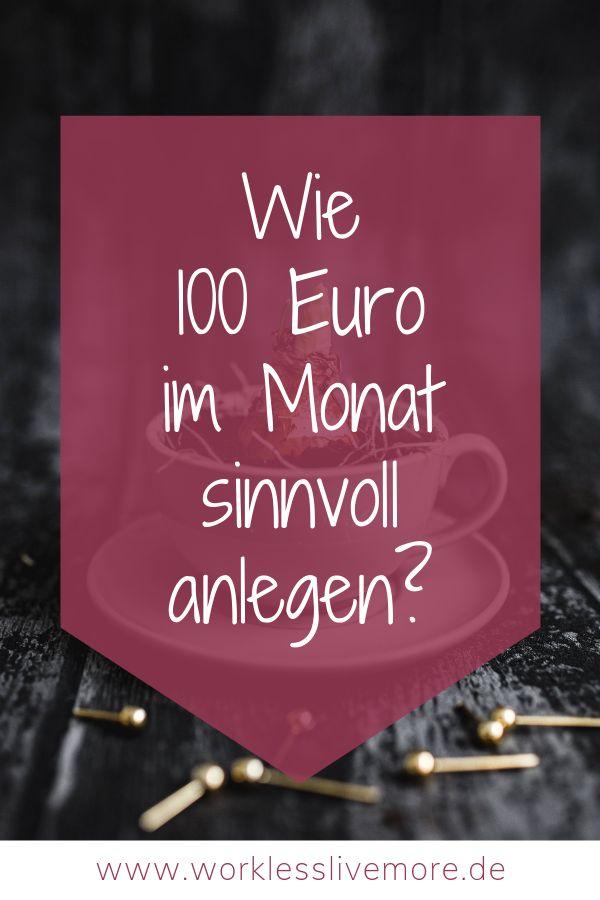 100 Euro Im Monat Verdienen