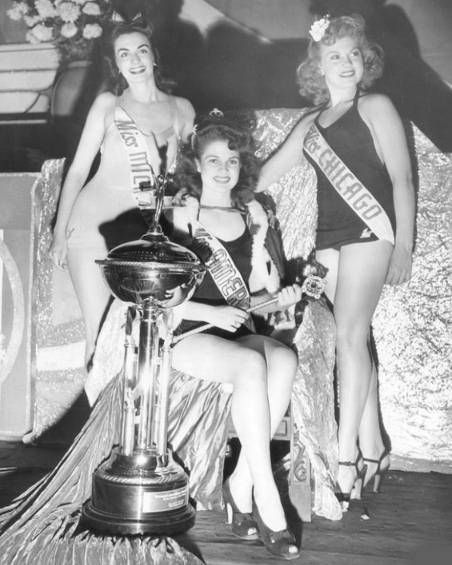 Venus Ramey, Miss America 1944: Vintage Photo, 40S