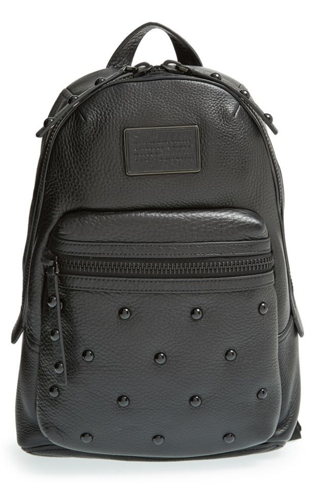 MARC BY MARC JACOBS 'Domo - Biker' Studded Leather Backpack   Nordstrom