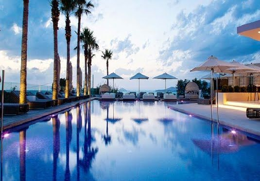 Aqua Blue Boutique Hotel Kos, Greece A seven-night holiday to Kos with flights and transfers, staying at a waterfront boutique hotel