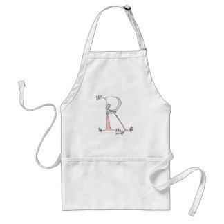 Magical Letter R from tony fernandes design Standard Apron