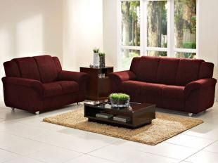 Oferta! Suavidade e conforto em sua casa com o Sofá Holanda que possui revestimento em tecido, trazendo bom gosto, qualidade e muito conforto como características principais do produto.