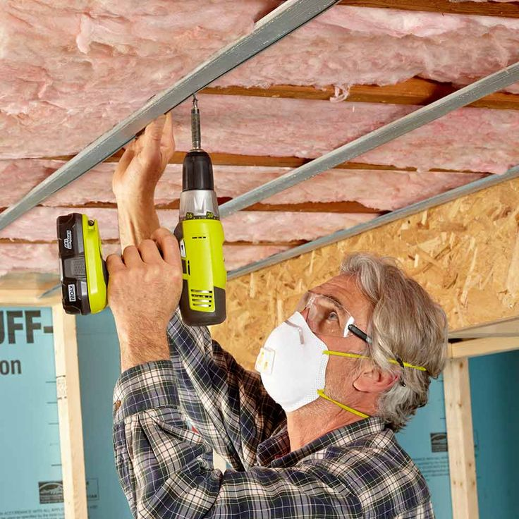 Tips for a Quieter Ceiling - 14 Basement Finishing Tips: http://www.familyhandyman.com/basement/basement-finishing-tips