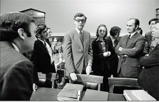 Hillary Clinton, with chief counsel John Doar (left), bringing impeachment charges against President Nixon before the House Judiciary Committee in 1974 Details of Hillary Clinton's firing from the House Judiciary Committee staff for unethical behavior as she helped prepare articles of impeachment against Richard Nixon have been confirmed by the panel's chief Republican counsel. Franklin […]