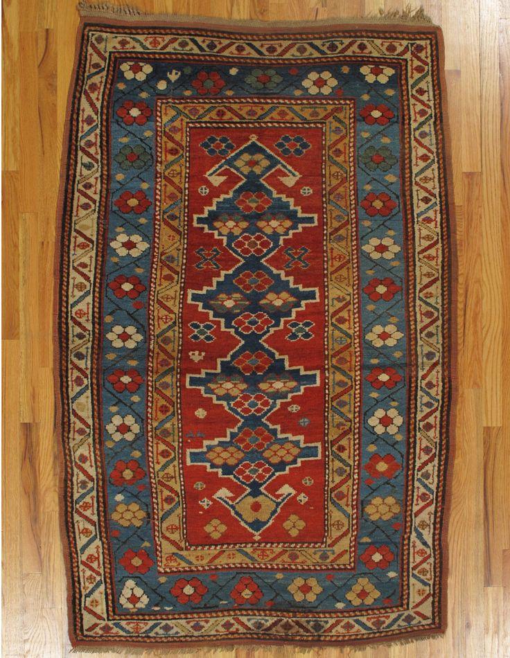 Kazak Rug From Southwest Caucasus Age Circa 1880 Size 5 11