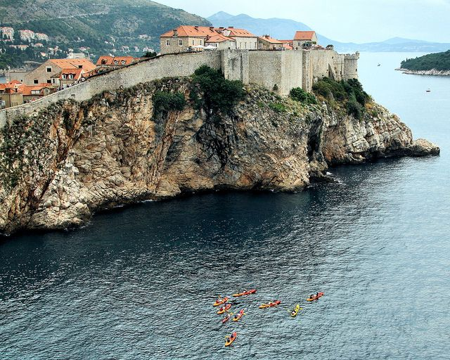 Dubrovnik, Croatia. I loved this country it'-s so beautiful ...