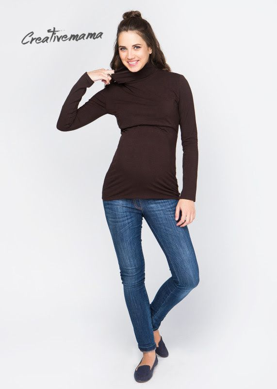 ✅ВОДОЛАЗКА CHOCOLATE(ХЛОПОК) 4️⃣2️⃣9️⃣ГРН Для Беременных и кормящих мам. Можно носить после беременности и грудного вскармливания. Комфортная водолазка из натурального хлопка — базовая вещь в осеннем гардеробе любительниц натуральных тканей. Водолазка имеет секрет кормления в виде подъемного топа, что после родов позволит мамочке незаметно и комфортно кормить грудью в любом месте и ситуации парке, самолете, гостях, ресторане, магазине – ограничений нет! — Выгодно подчеркивает беременный…
