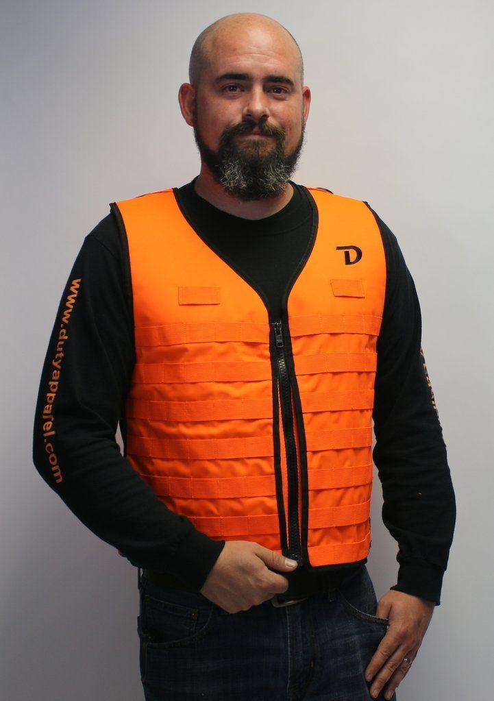 Blaze Orange MOLLE Vest G2 Series