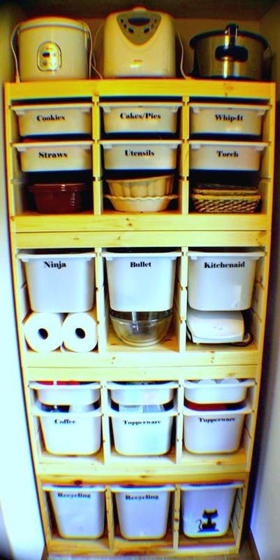 With its plastic bins the Trofast can read a bit juvenile, but don't let this stop you. The key is to use it in parts of your home dedicated to utility.