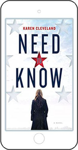 Hot new book Need to Know by Karen Cleveland will be a major motion picture.