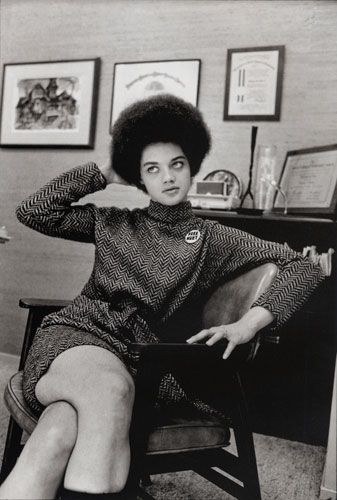 Kathleen Neal Cleaver in San Francisco, California.