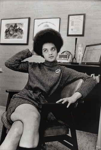 Kathleen Neal Cleaver in San Francisco, California.