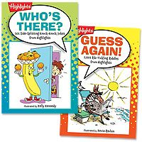 Highlights Joke Books - set of 2..perfect of the younger cousins