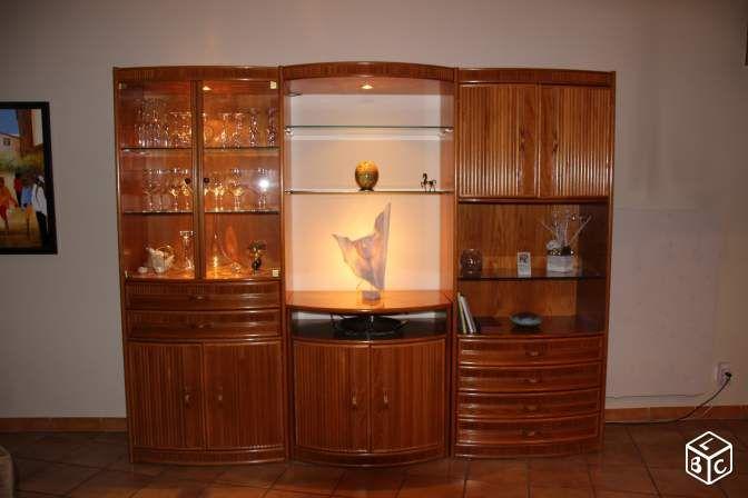 Meuble de salon living en rotin ameublement yvelines for Meubles bureau yvelines