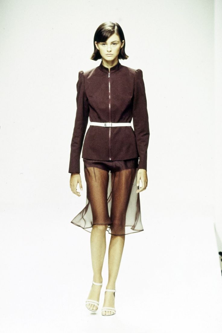 Prada Spring 1995 Ready-to-Wear Fashion Show - Trish Goff