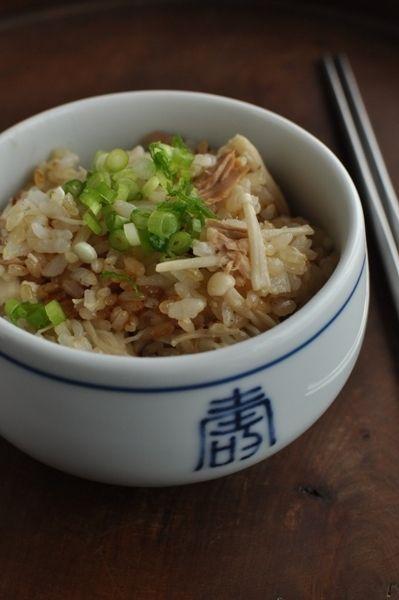 エノキとツナの塩麹ごはん - 朝ごはんレシピ/朝時間.jp by レシピブログ