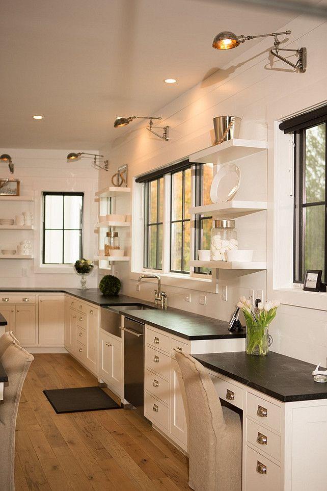 Kitchen Desk Soapstone kitchen desk This kitchen