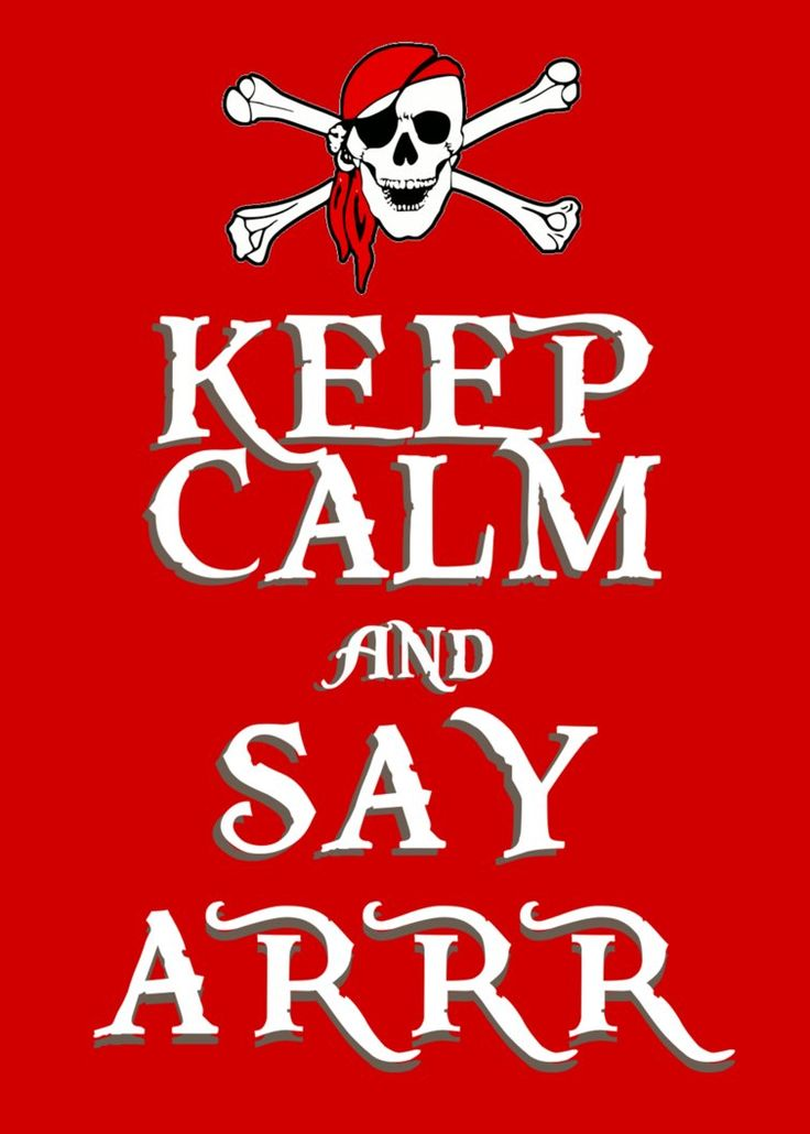 I wish I'd seen this in time for International Talk Like a Pirate Day!!