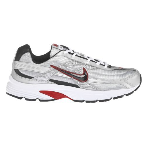 Nike Men's Initiator Running Shoes (Metallic Silver/Black/White/Varsity Red, Size 10.5) - Men's Running Shoes at Academy Sports