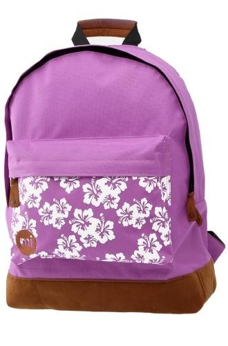 Mi-Pac Aloha Purple Backpack, £21.99    http://www.attitudeclothing.co.uk/product_32026-61-2410_Mi-Pac-Aloha-Purple-Backpack.htm
