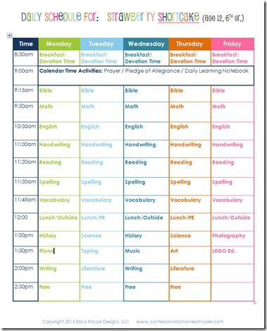 an analysis of the curriculum schedule in high school and college Block scheduling is a type of academic scheduling used in schools in the  american k-12 system, in which each pupil has fewer classes per day it is more  common in middle and high schools than in primary schools  under a  traditional american schedule, pupils in a high school will study seven subjects  a day for 45.