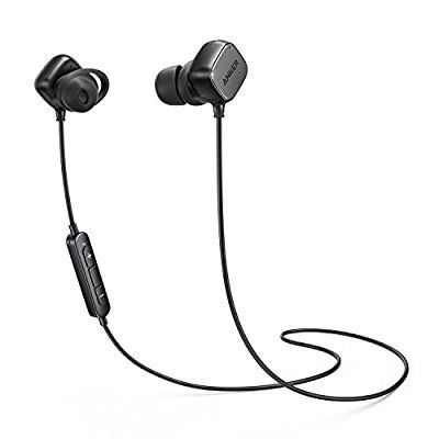 Wireless Headphones, Anker SoundBuds Tag In-Ear Bluetooth Earbuds, Smart Magnetic Headphones with aptX Technology, CVC 6.0 Noise Cancellation, 6 Hour Playtime - Bluetooth 4.1 Headset with Mic