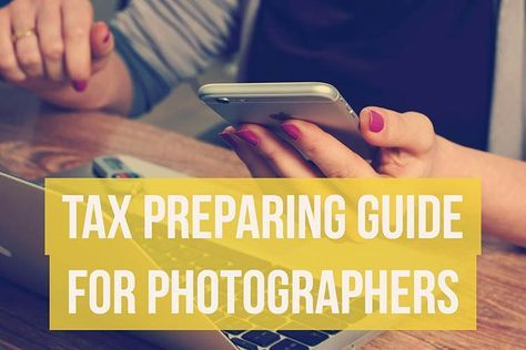 It's the most dreaded time of year for photographers: tax season! One of the most vital parts to starting a photography business is making sure your finances are squared away, which means paying taxes. Whether you hire a professional accountant to do your taxes for you or take on the role for yourself, it's