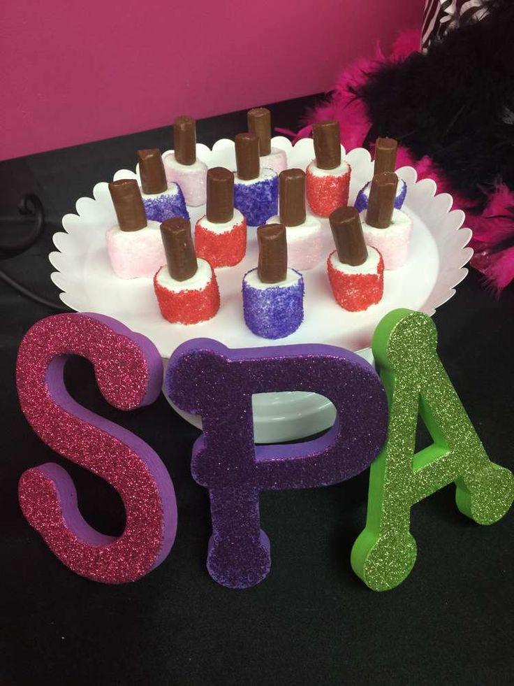 Best  Salon Party Ideas On Pinterest Kids Spa Party Girls - Spa birthday party cake