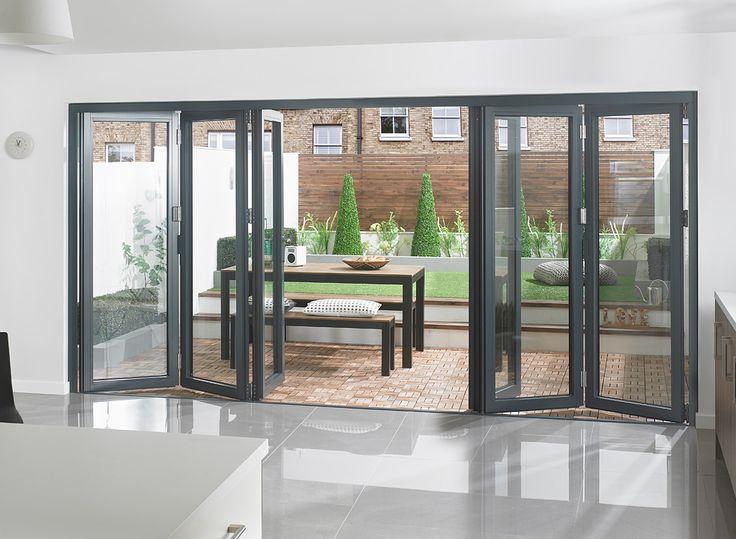 31 best Aluminium Bi Fold Doors images on Pinterest | Bi fold doors ...