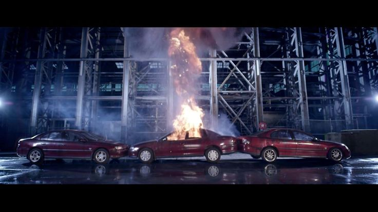 'Untitled Film [Destruction of Three Holden Commodores]' - Ian Strange / Kid Zoom