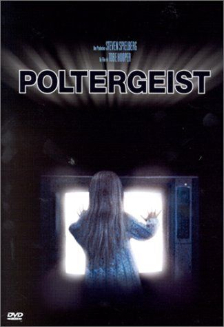 Poltergeist (1982).        My Dad took Me and my friend to this I didn't know it was scary .... My Dad still has the scars on his arm where I grabbed it with both hands and turned my face and screamed my little no fingernail hands left little half moon scars and my friend on the other side did the same thing poor Dad :) to the day we sit a seat a part in the theaters :) I Love My Dad!