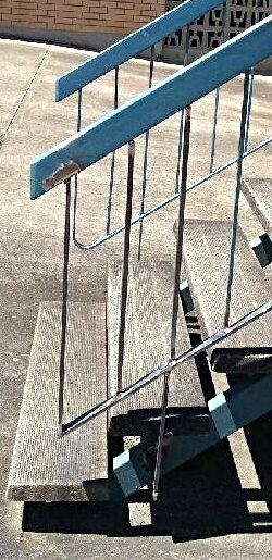 Mobile Handrail repair - Mobile Welding - Browns Mobile Fabrication and Welding