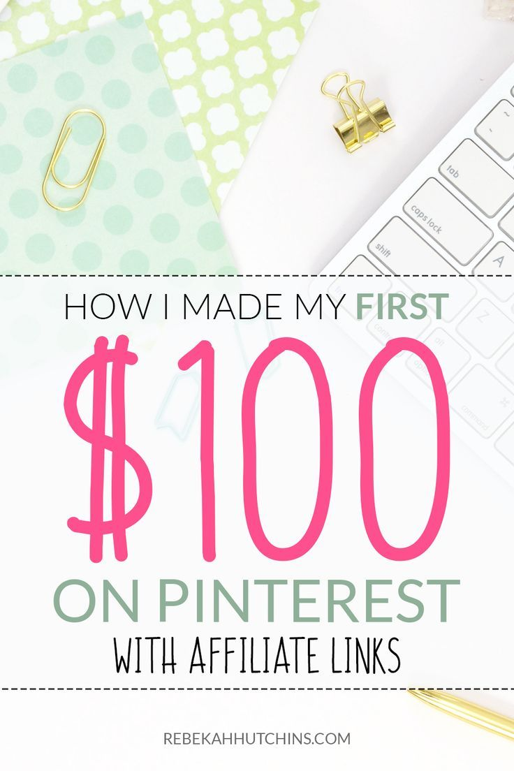 Want to make your first affiliate sale on Pinterest? Click through for tips and advice to see how you can get started today! | Pinterest affiliate marketing | Make money online | Work at home | #workathome #affiliatemarketing #bloggingtips