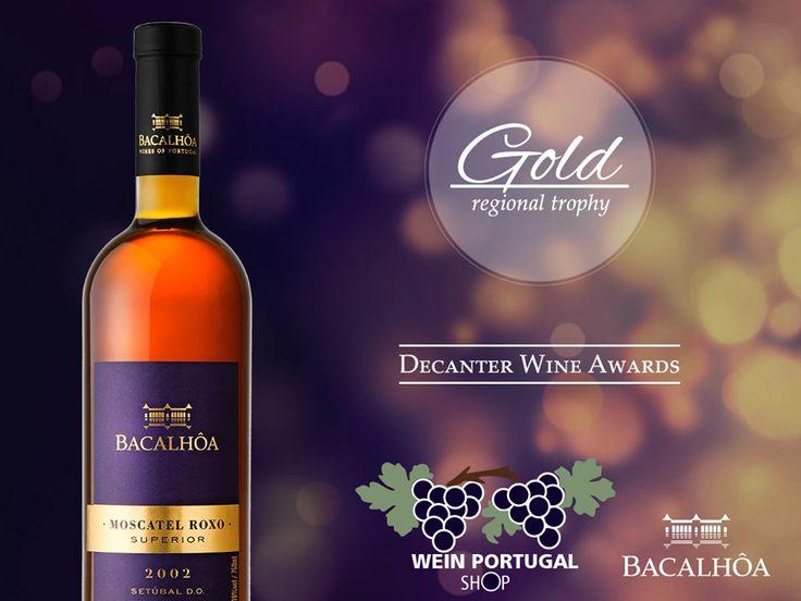 Zum besten Preis auf unserer Website kaufen. Bacalhôa Moscatel Roxo Superior 2002, Ausgezeichnet Goldmedaille