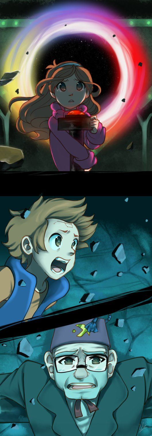 *LATEST EPISODE OF GRAVITY FALLS SPOILERS, READ AT YOUR