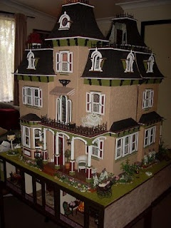 Two Beacon Hill's put together to make one dollhouse