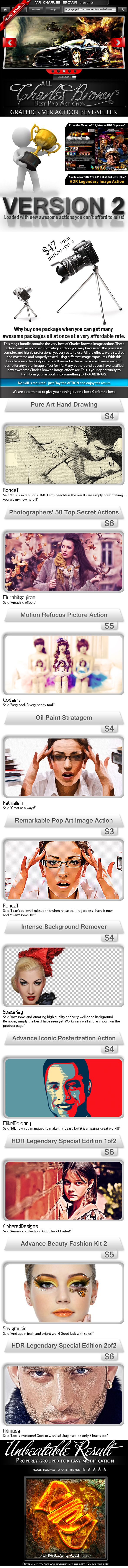 All Charles Brown Best Actions Bundle 2 - Download…