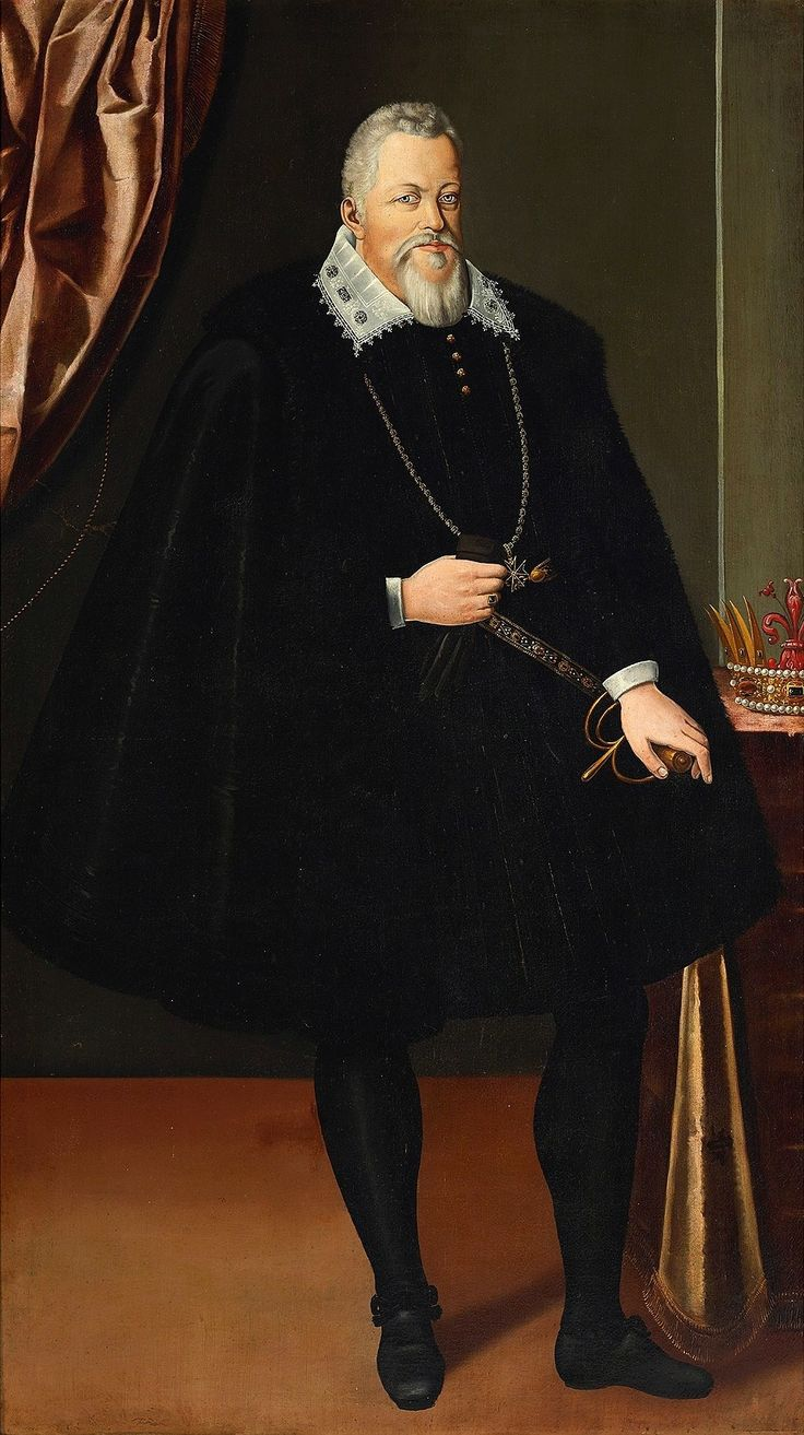 Portrait of Ferdinando I de' Medici by follower of Scipione Pulzone, 1600s (PD-art/old), Zamek Królewski w Warszawie (ZKW); in a letter from September 10, 1595 Grand Duke of Tuscany recommended to Sigismund III Vasa two of his musicians Luca Marenzio and Francesco Rasi. The king of Poland offered Marenzio the huge salary of 1500 scudi per year and requested him to bring other musicians with him. Marenzio remained in Poland until mid-1598, while Rasi returned to Italy by November 1597